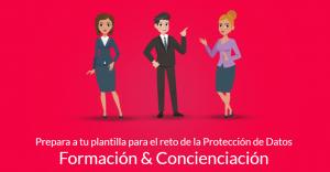 formación protección de datos empleados